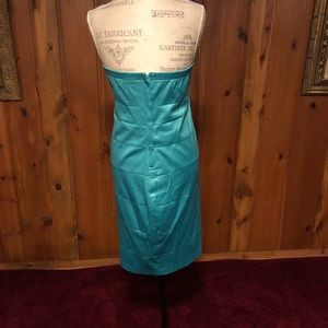Teal cocktail dress from Torrid